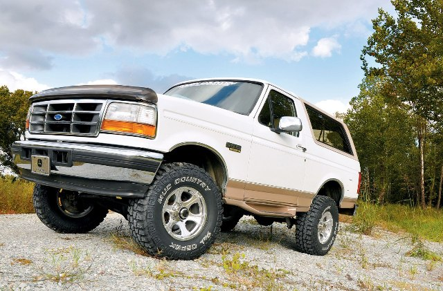 The World's Greatest SUV's - 1978-1996 Ford Bronco: The big brash Bronco's