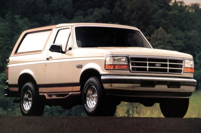 The World's Greatest SUV's: 1978-1996 Ford Bronco - The
