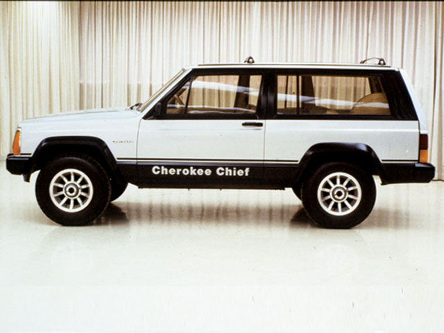 The World\'s Greatest SUV\'s: 1984-2001 Jeep Cherokee - The Motoring ...