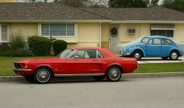1967 ford mustang coupe - Red 1967 Ford Mustang Coupe