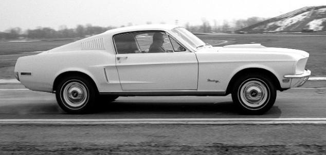 1968 ford mustang 428 cobra jet