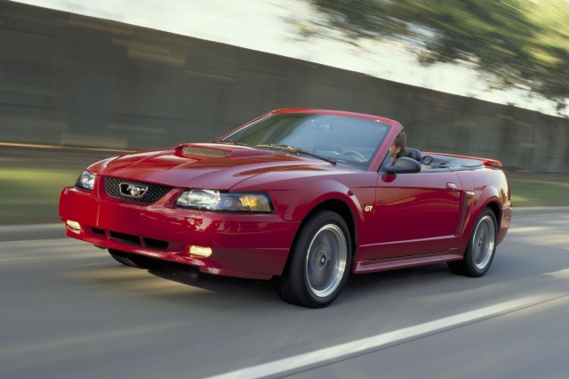 1999 2004 ford mustang the new edge style the motoring 2003 ford mustang gt convertible sciox Images