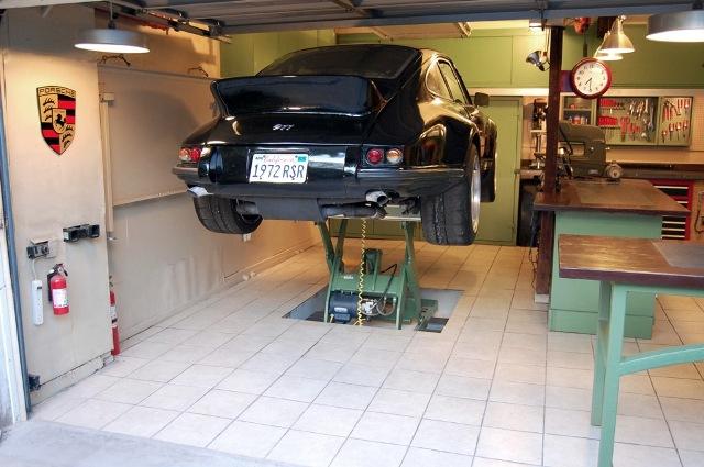 Jack olsen s 12 gauge garage the motoring enthusiast for Car lift plans