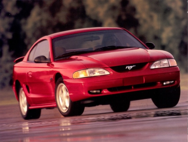 The Ford Old Mustang - 1994-1998 Something New